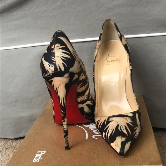cb287091b70 Christian Louboutin Shoes - Christian Louboutin So Kate Tissu